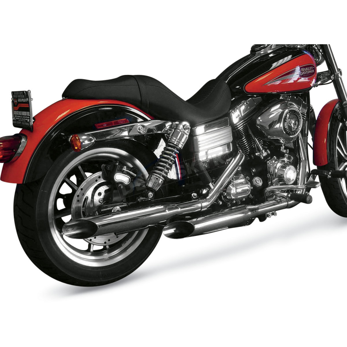 Cycle Shack 1-3/4 in. Slash-Out M Pipes Exhaust System ...