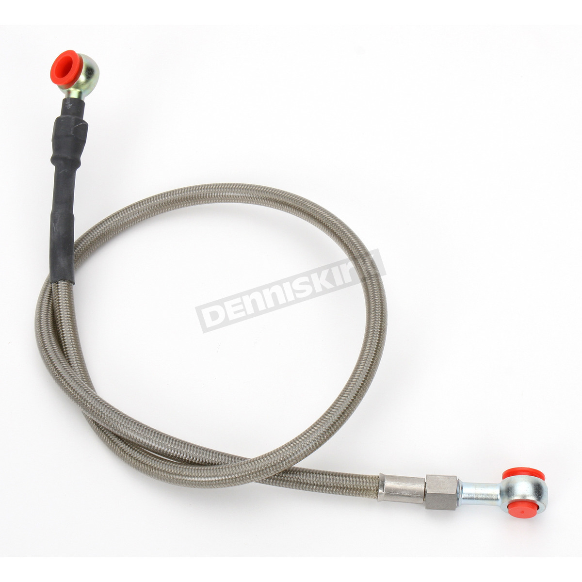 Steel Braided Brake Lines At Master Cylinder : Moose stainless steel rear braided brake line my
