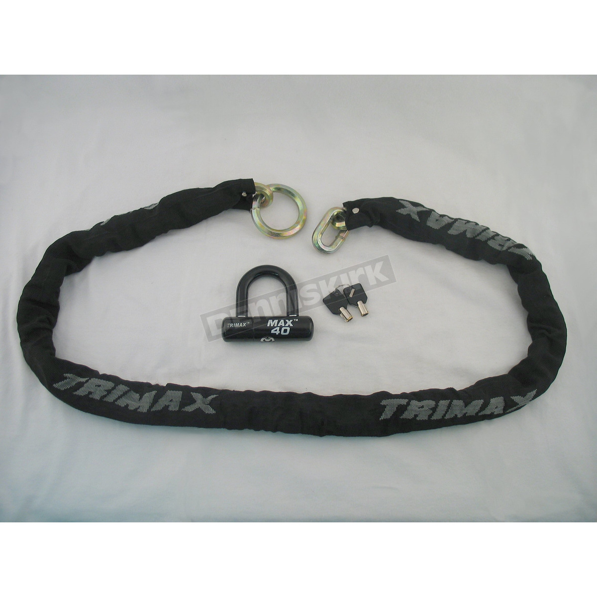 trimax ultra max t hex super chain lock with u lock thex5040 harley motorcycle goldwing. Black Bedroom Furniture Sets. Home Design Ideas