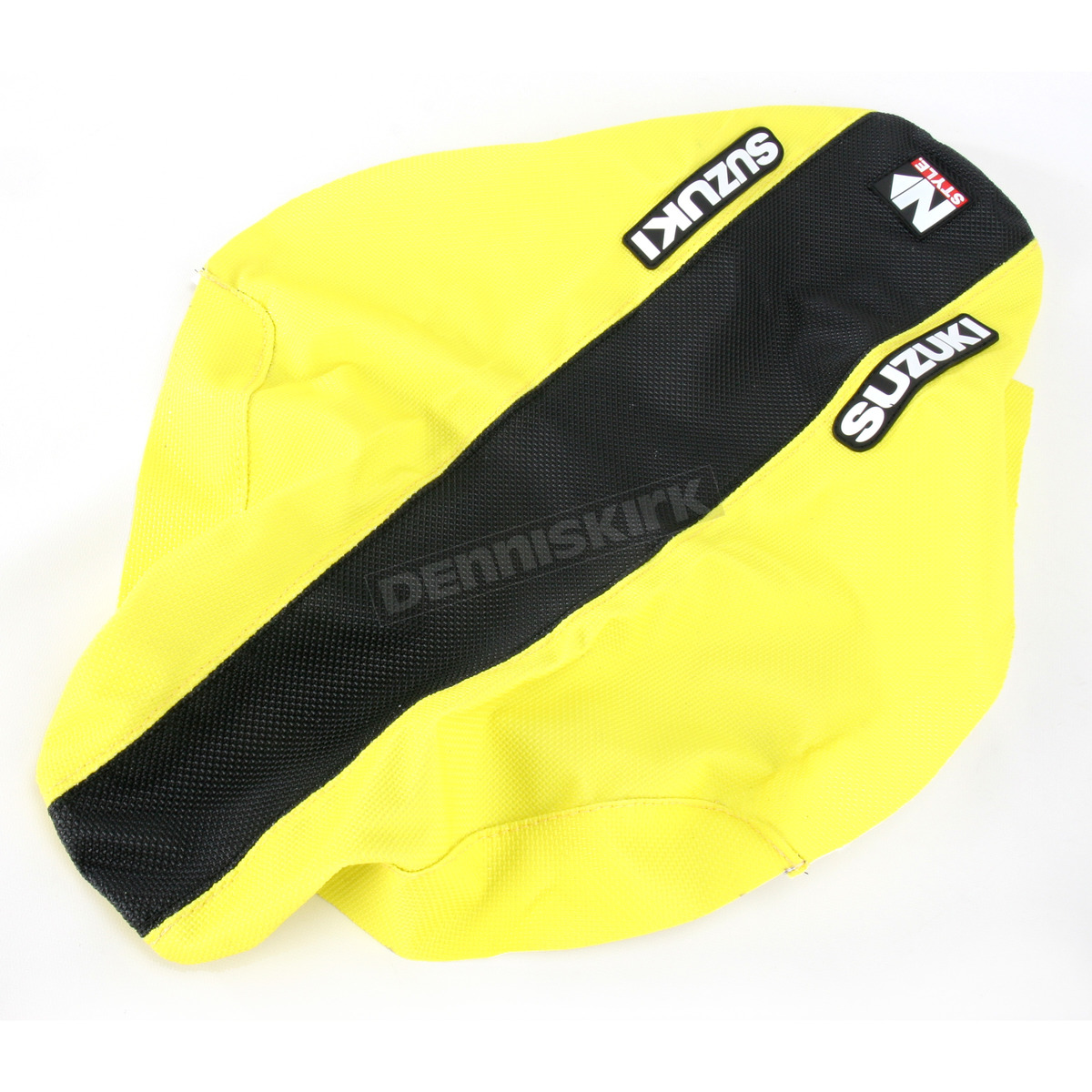 N Style Yellow Black Factory Issue Grip Seat Cover
