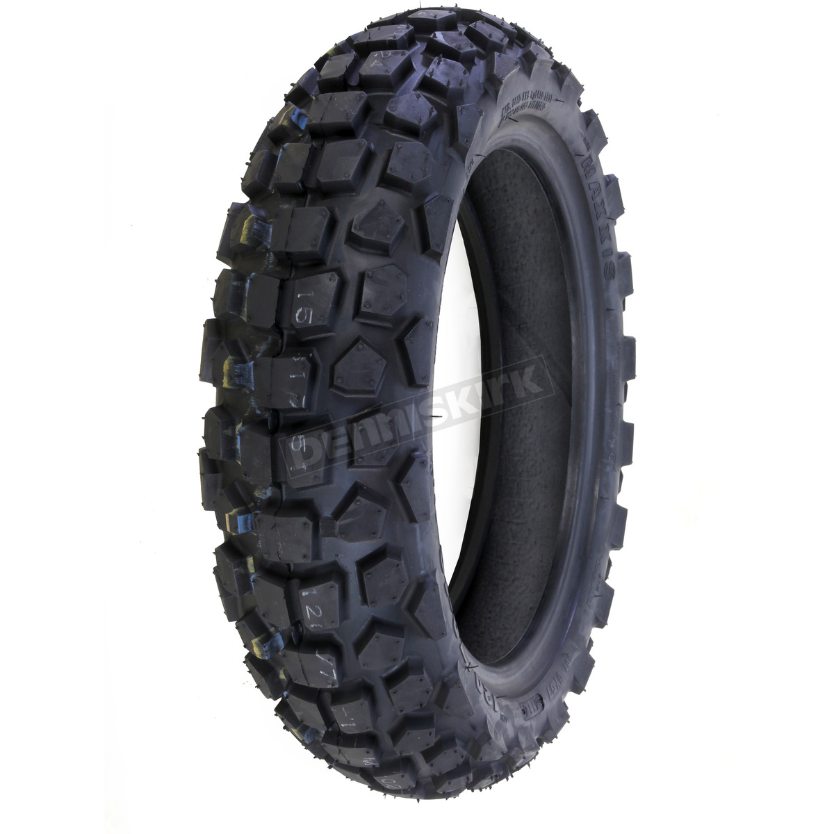 maxxis front or rear m6024 120 70 12 blackwall tire. Black Bedroom Furniture Sets. Home Design Ideas