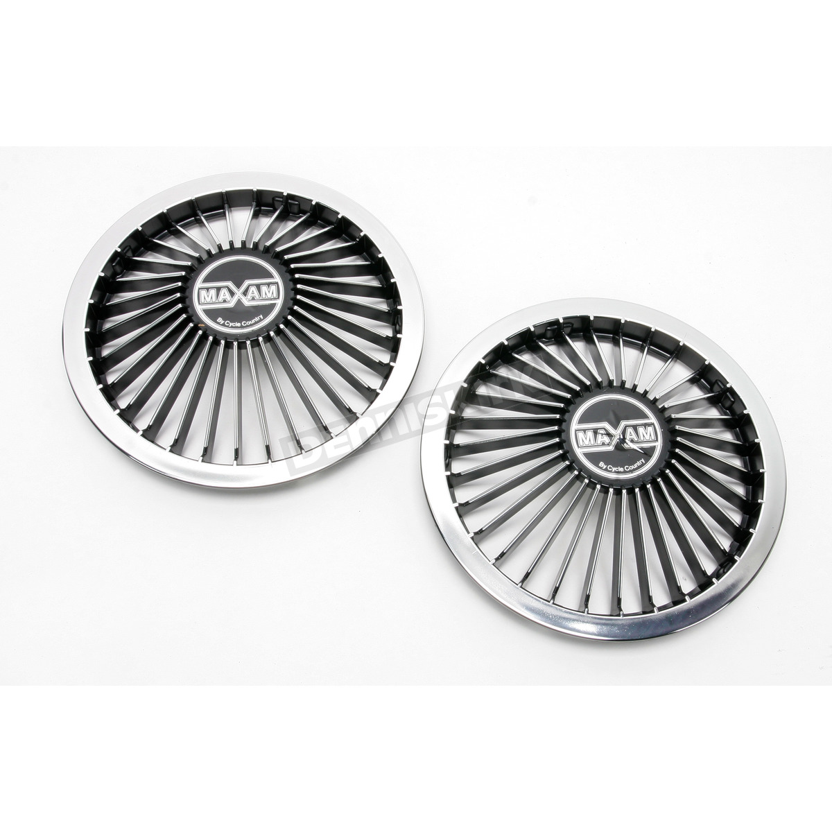 Atv Hub Caps : Cycle country wheel covers for atvs and trailers chrome