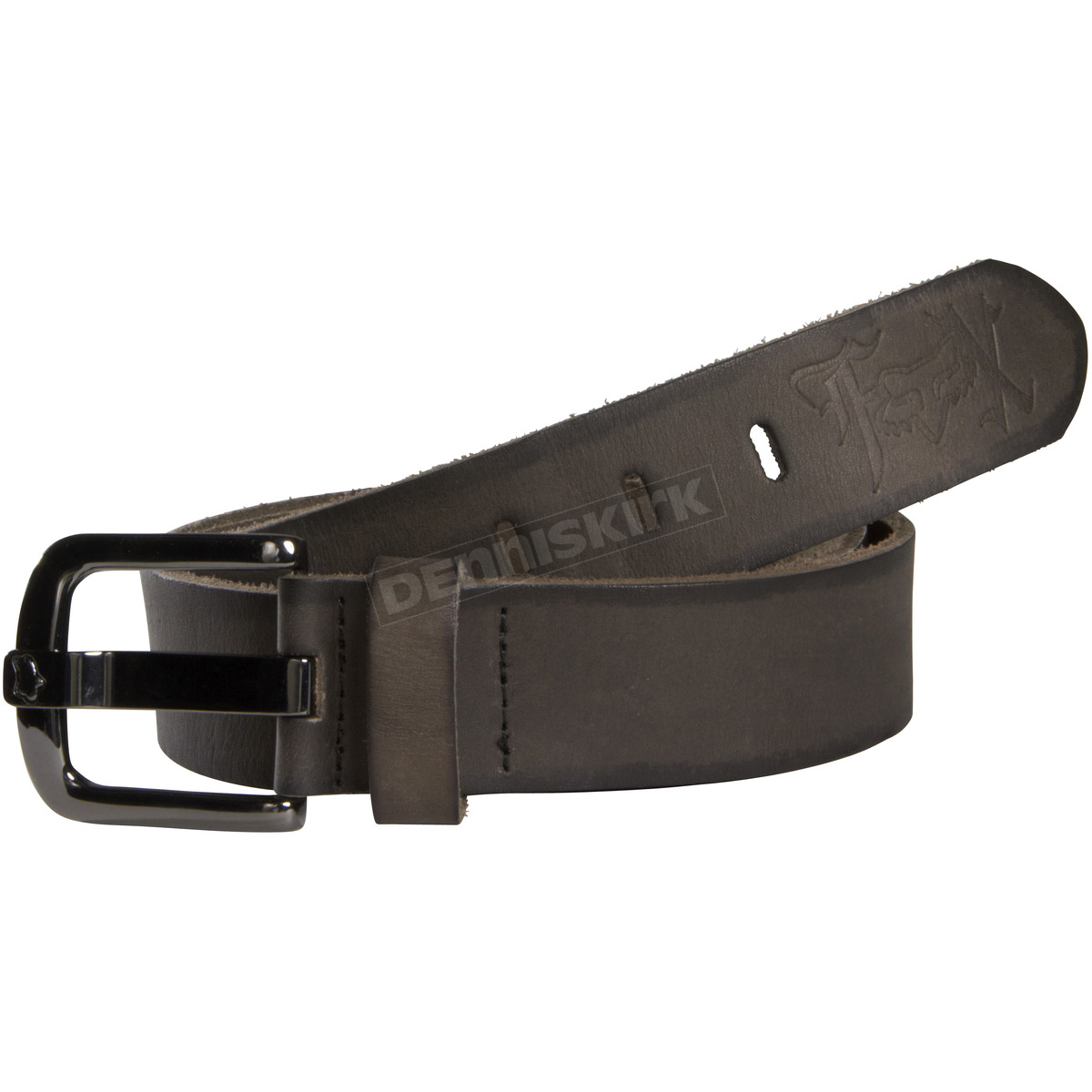 fox womens victor black leather belt 04644 001 s atv