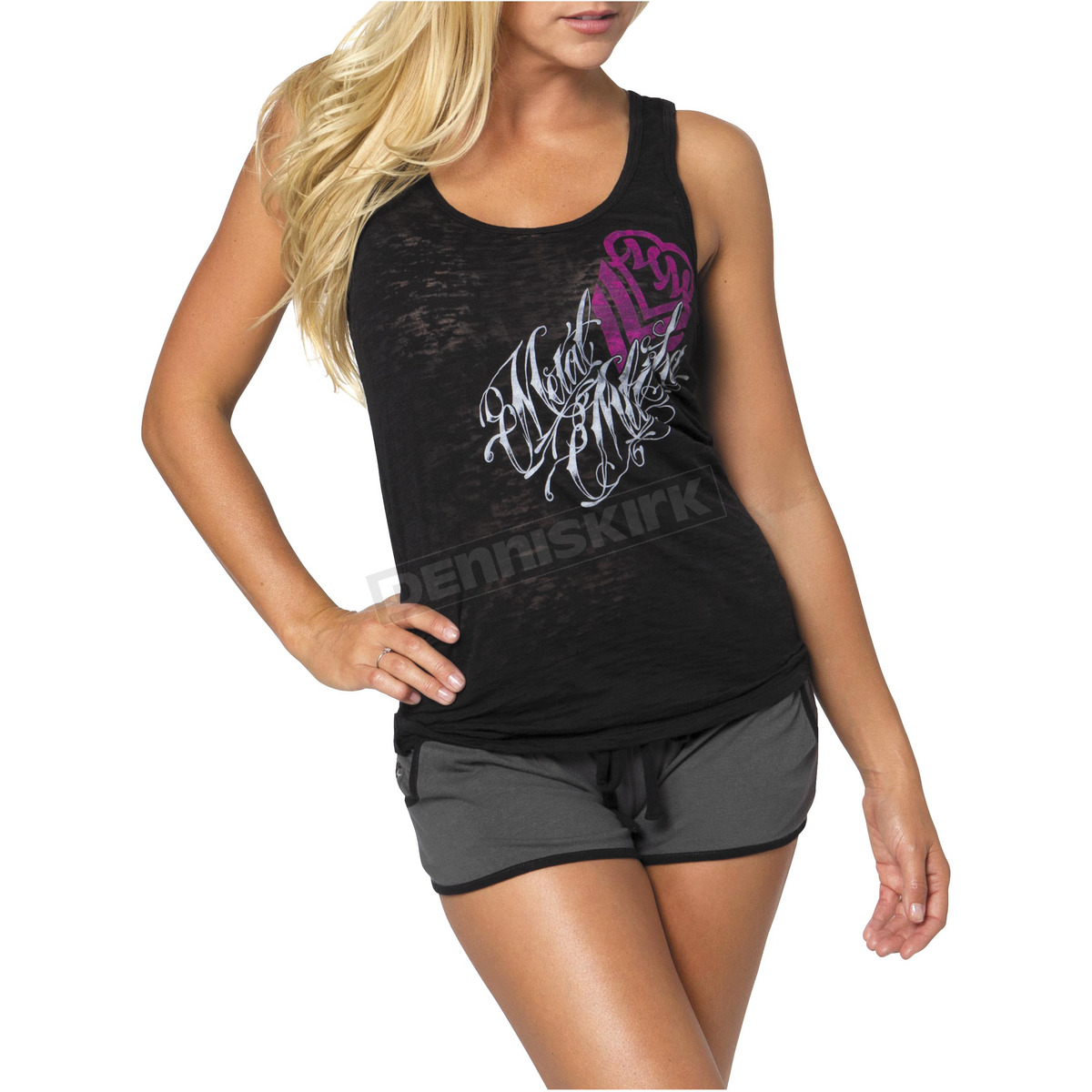 Women products in stock. We hope to have some more soon - so feel free to bookmark this page and check back later. In the meanwhile - check out our great selection of Metal Mulisha, men's clothing, women's clothing and accessories.